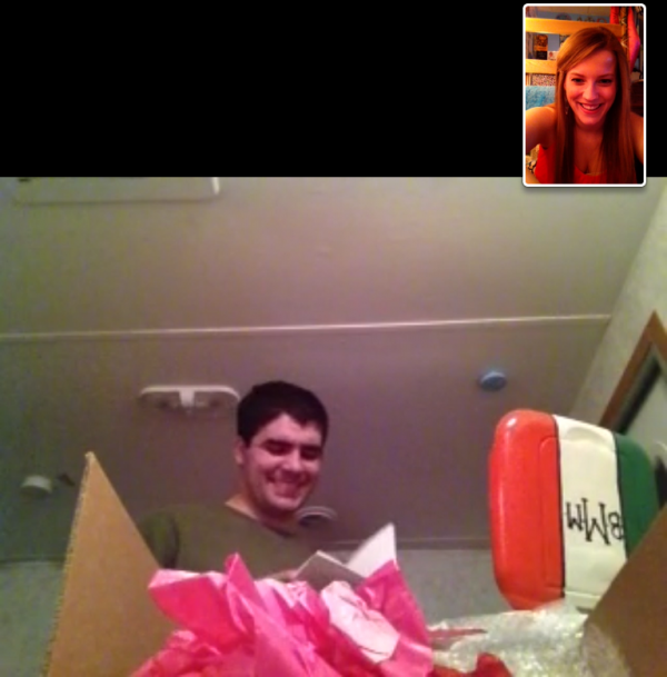 Making sure my man has a cooler for formal season even though he's 1,270 miles away. TSM.