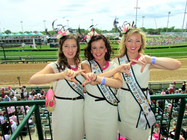 Chi Omega Kentucky Derby Princesses. TSM.