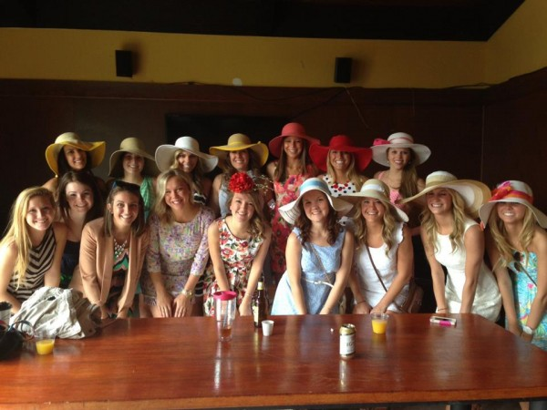 Nothing is better than the Kentucky Derby and my sisters. TSM.