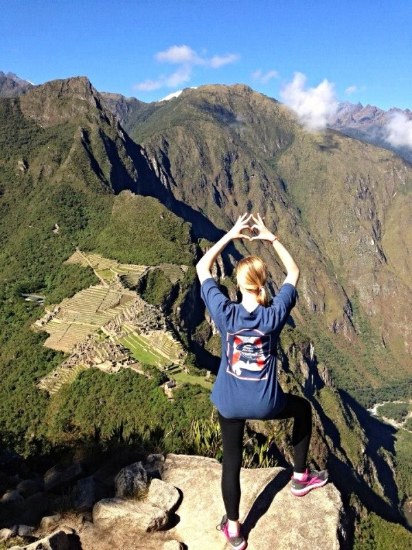 Alpha love and all of mine from the peak of Wyanapicchu. TSM.