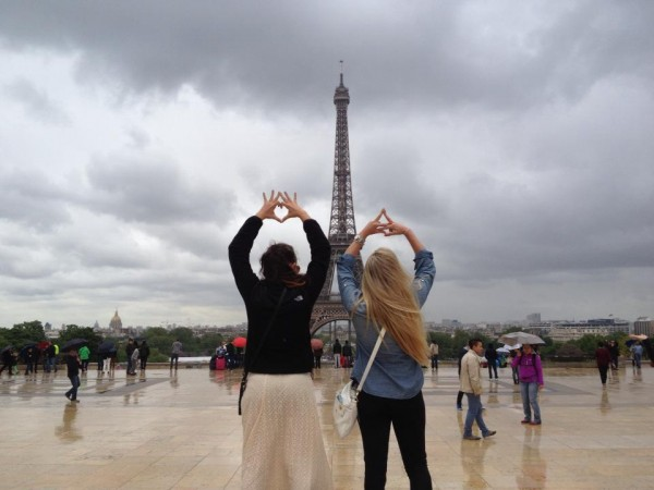 Studying abroad together! TSM.