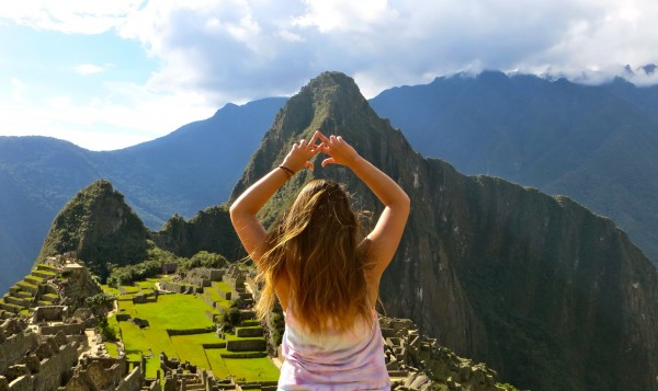 Seeking the heights from one of the oldest and highest, Machu Picchu. TSM.