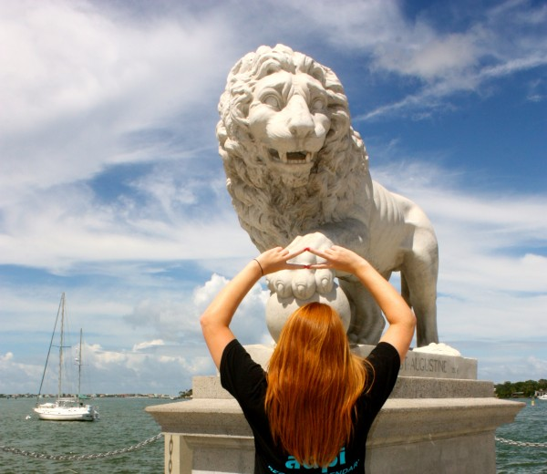 Throwing what you know at the Bridge of Lions. TSM.