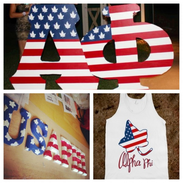 Being just as proud of your freedom as you are of your letters. TSM.