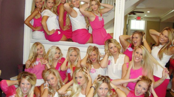 Total Sorority Move There Are Some Things Only Blondes