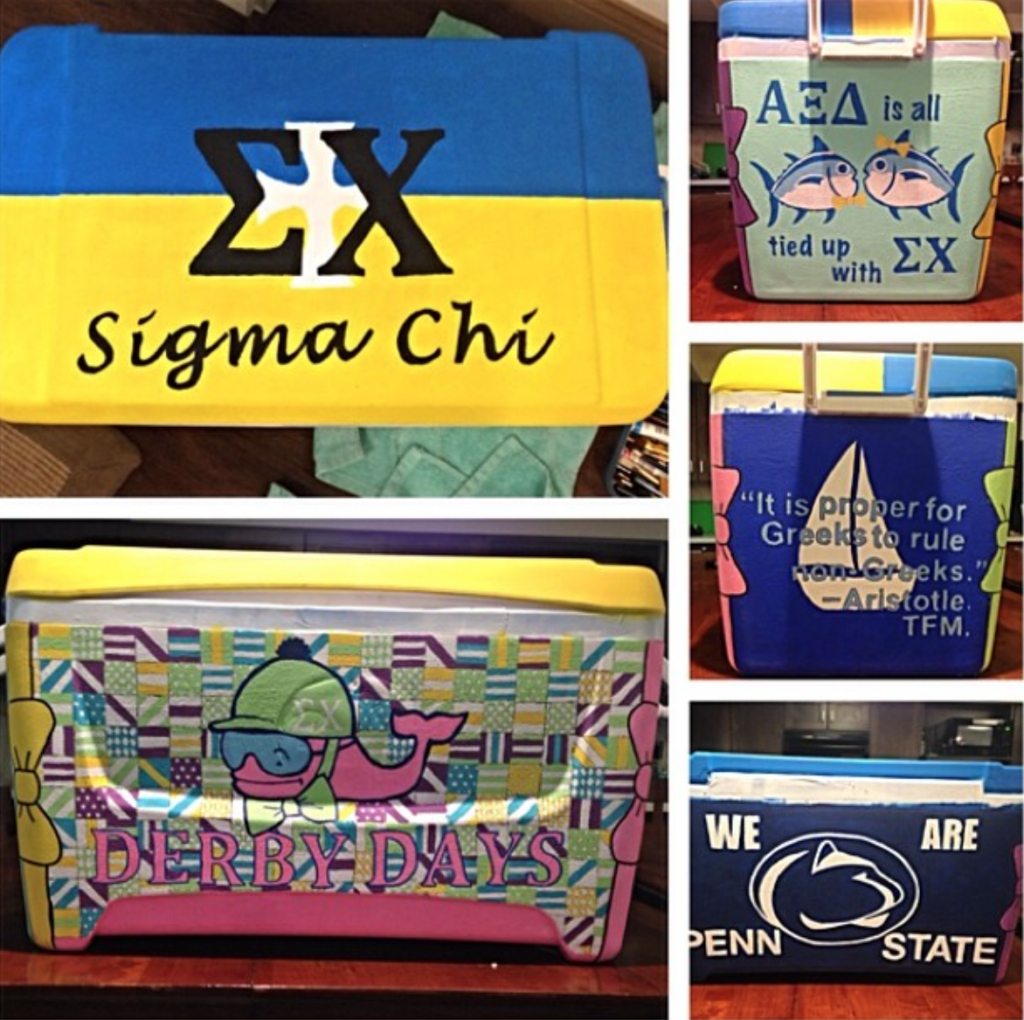Total Sorority Move | Your cooler being the most bid on item