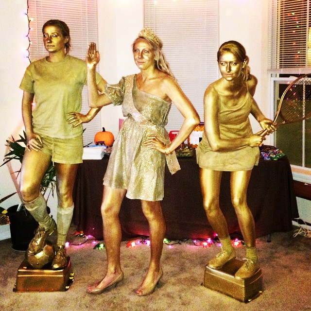 Halloween Hair and Makeup - Trophies