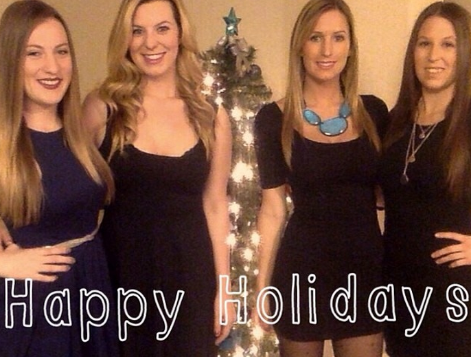 The Twelve Days Of White Girl Christmas