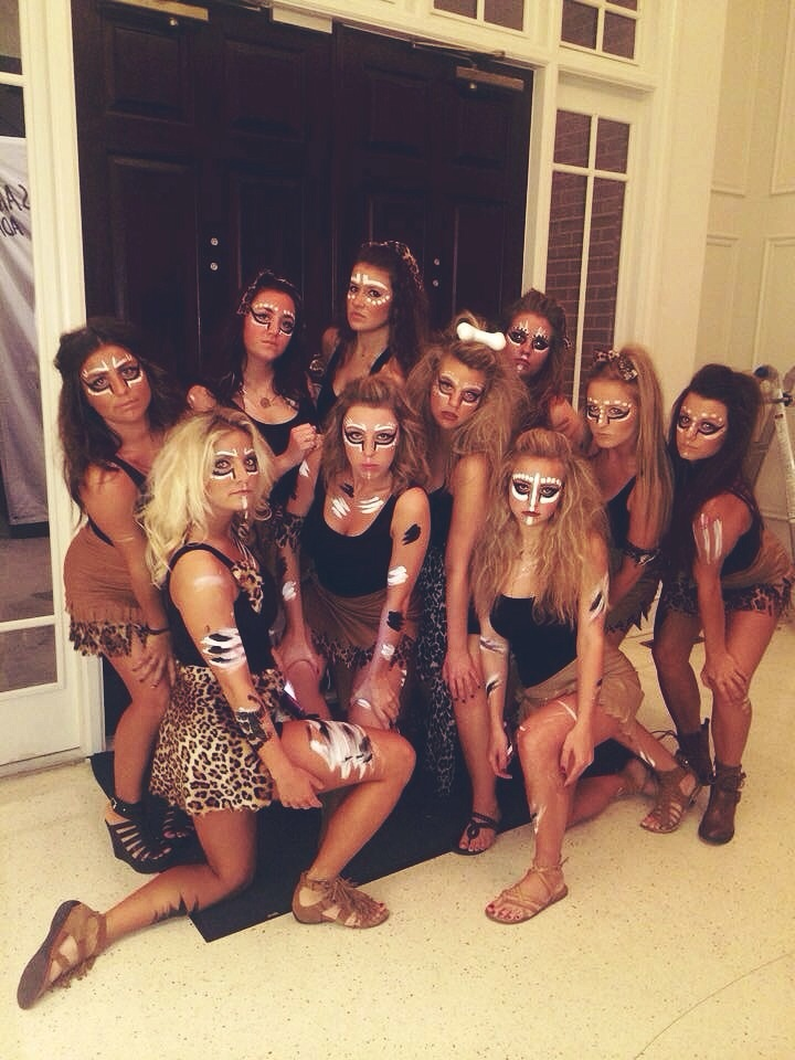 Halloween Hair and Makeup - Tribe