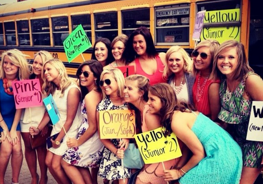 The English Language As Defined By Sorority Girls