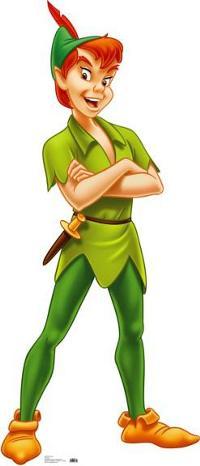 Peter Pan, Peter Pan