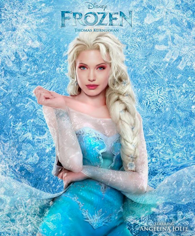 Angelina Frozen