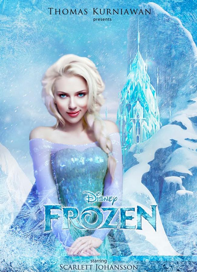 ScarJo Frozen