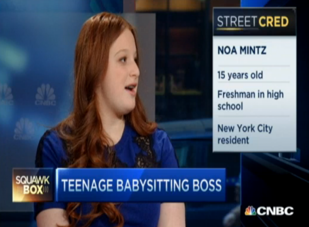 Meet The NYC Teenager Who Makes $480,000 A Year Babysitting