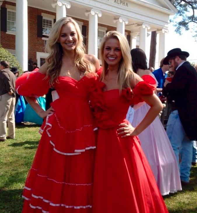 Hoop Skirts Banned At UGA, Because Racism