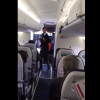 Flight Attendant Dancing To Uptown Funk