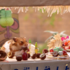 Nothing Is Cuter Than This Tiny Hamster Tiki Party