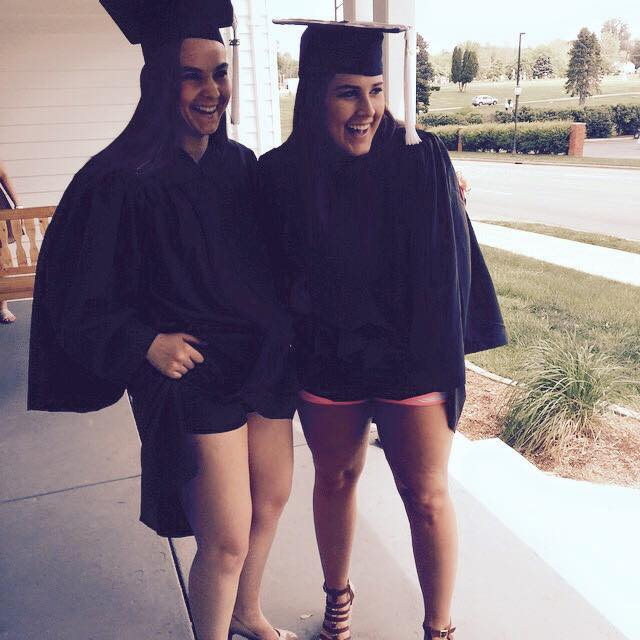 Total Sorority Move | Wearing norts under your gown. TSM.