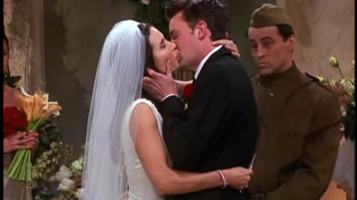 Monica anf Chandler
