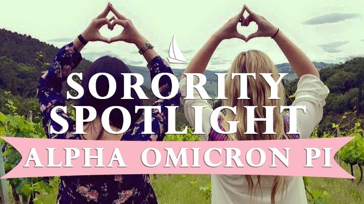Daily Sorority Spotlight: Alpha Omicron Pi