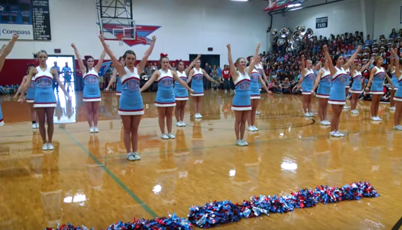 This Cheer Squad's 9/11 Tribute Will Warm Your Heart...Or Maybe Enrage You, Idk