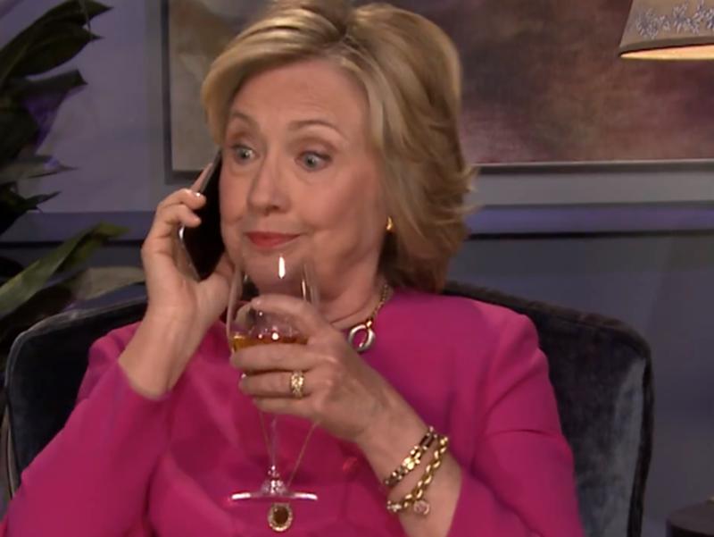 Hillary Clinton Threw Some Major Shade At Donald Trump Last Night