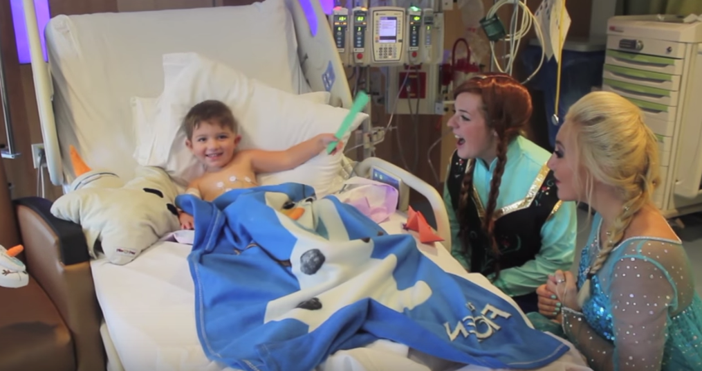 These Girls Want You To Dress Up Like Princesses In Children's Hospitals With Them