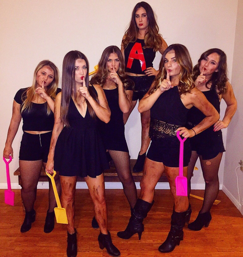 Pretty Little Liars  sc 1 st  Total Sorority Move & Total Sorority Move | The 33 Best Halloween Costumes Sorority Girls ...