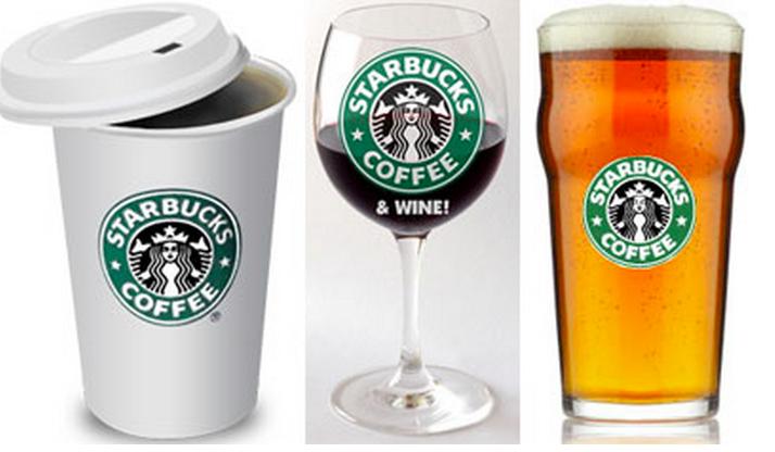 Starbucks booze