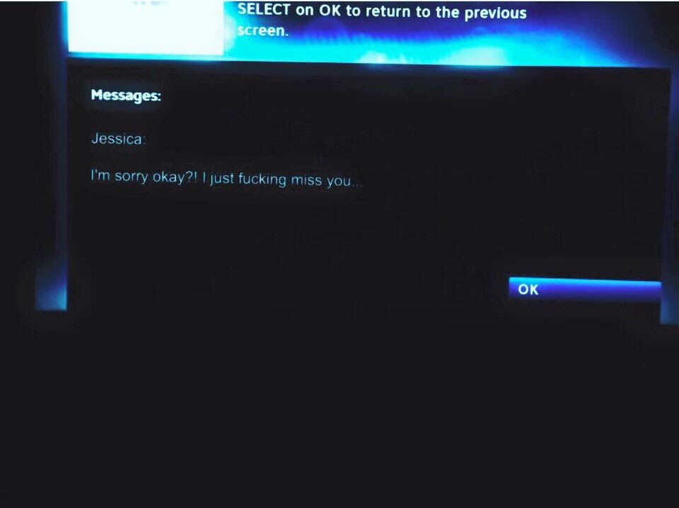 crazy ex messaged on directv
