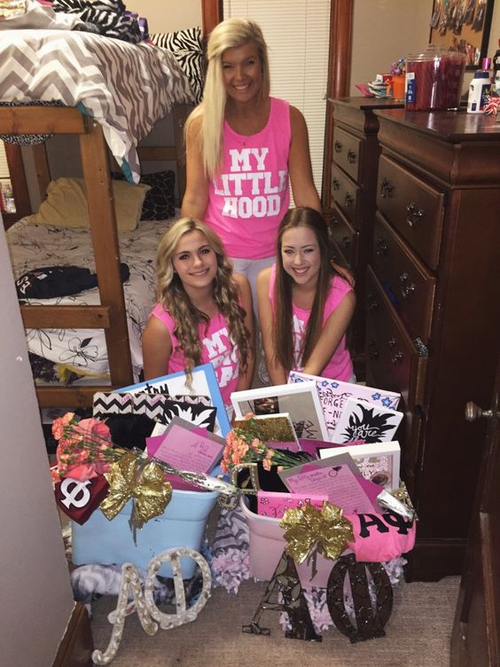 sorority big little basket ideas