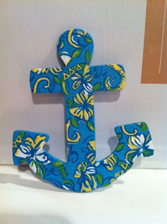 sorority big little wooden letter