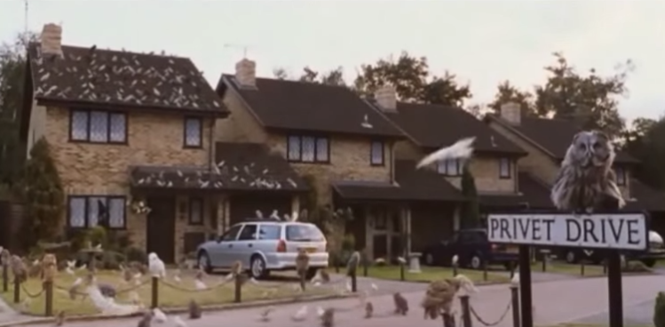 Harry Potter House Privet Drive