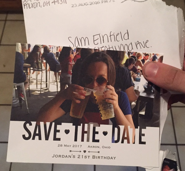 Sending Out Save The Dates For Your