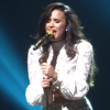 Demi Lovato Sing Concert In Beyonce Outfit