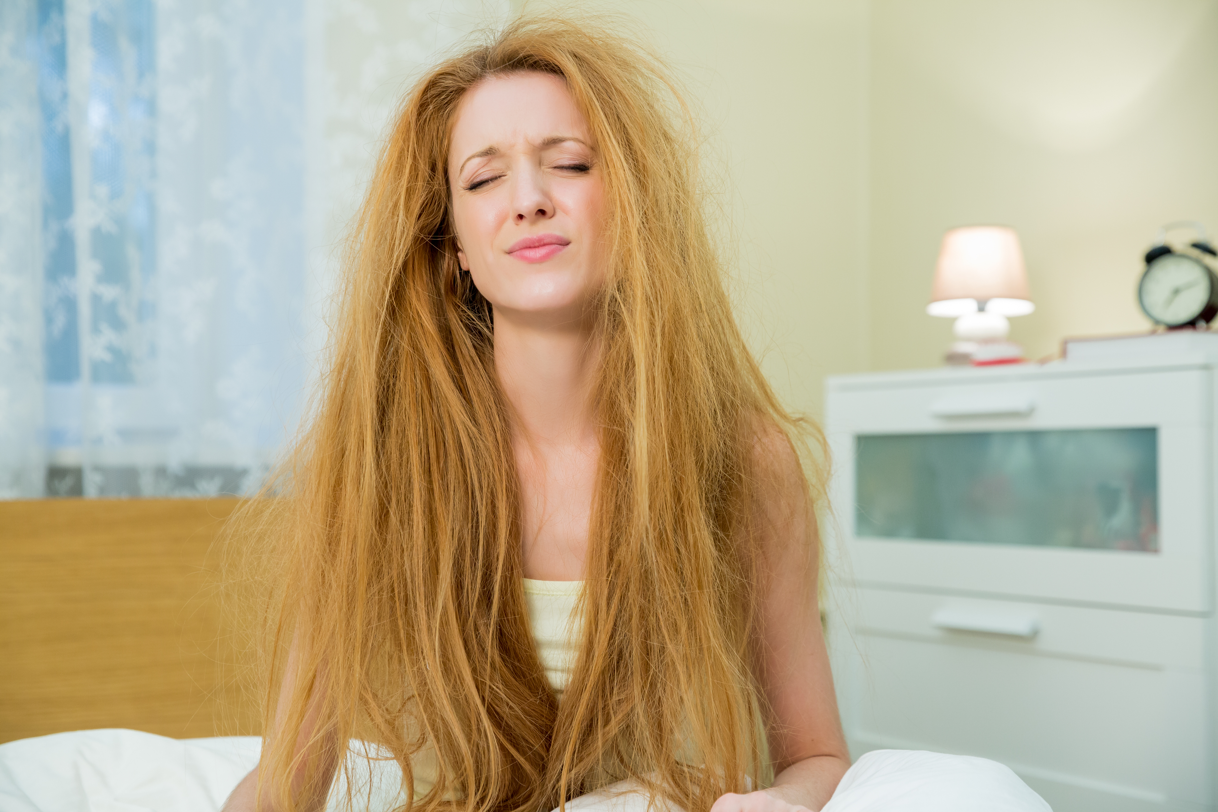 Maybe Start Brushing Your Hair In The Morning, Because You Look Like Shit