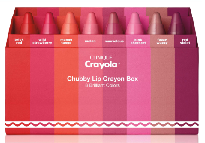 Clinique And Crayola Is The Strangest And Cutest Collab In Ages