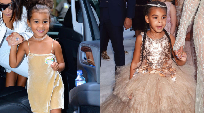 A Text Conversation Between Blue Ivy And North West Following Beyoncé's Pregnancy Announcement