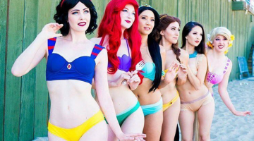 Disney-Themed Bikinis Are Here, Which Means Summer Needs To Hurry The Eff Up