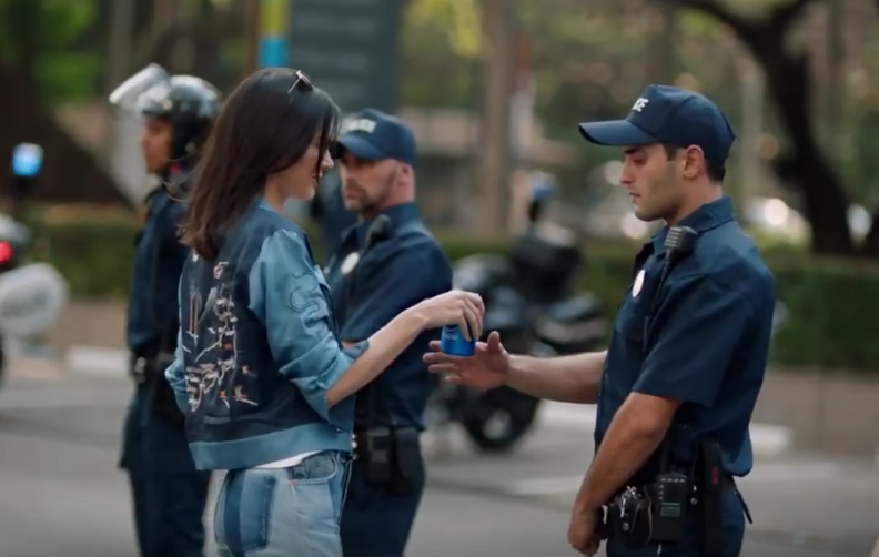 kendall finally answers the question is pepsi ok