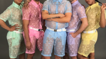 Lace Shorts For Men Are The New Male Rompers