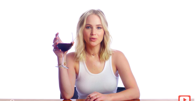 If You Win This Contest, You Can Drink Wine And Judge Your Exes With JLaw