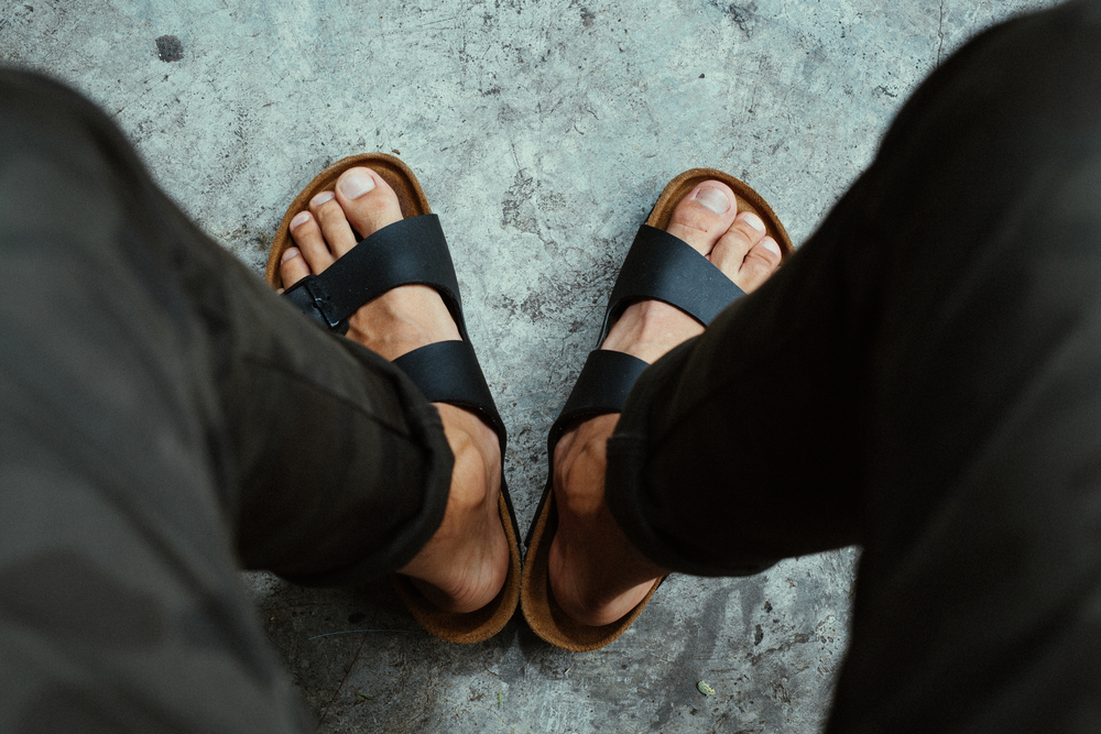 If I Can't Go Topless, Men Can't Wear Sandals