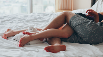 6 Kinky Sex Moves For People Who Hate Moving